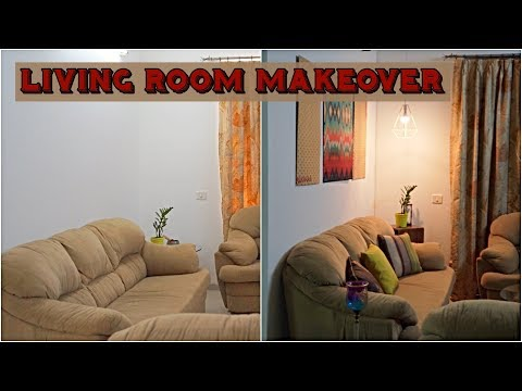 Living Room Makeover Ft. Slick and Natty | DMD Make My Space Beautiful E-1| Command Hooks Uses
