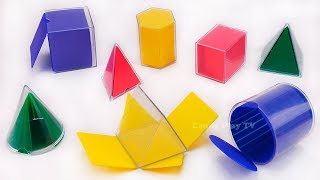 Learn Shapes with Toys | Learn Colors for Kids with Geometric Shapes | Learn Geometric Shapes