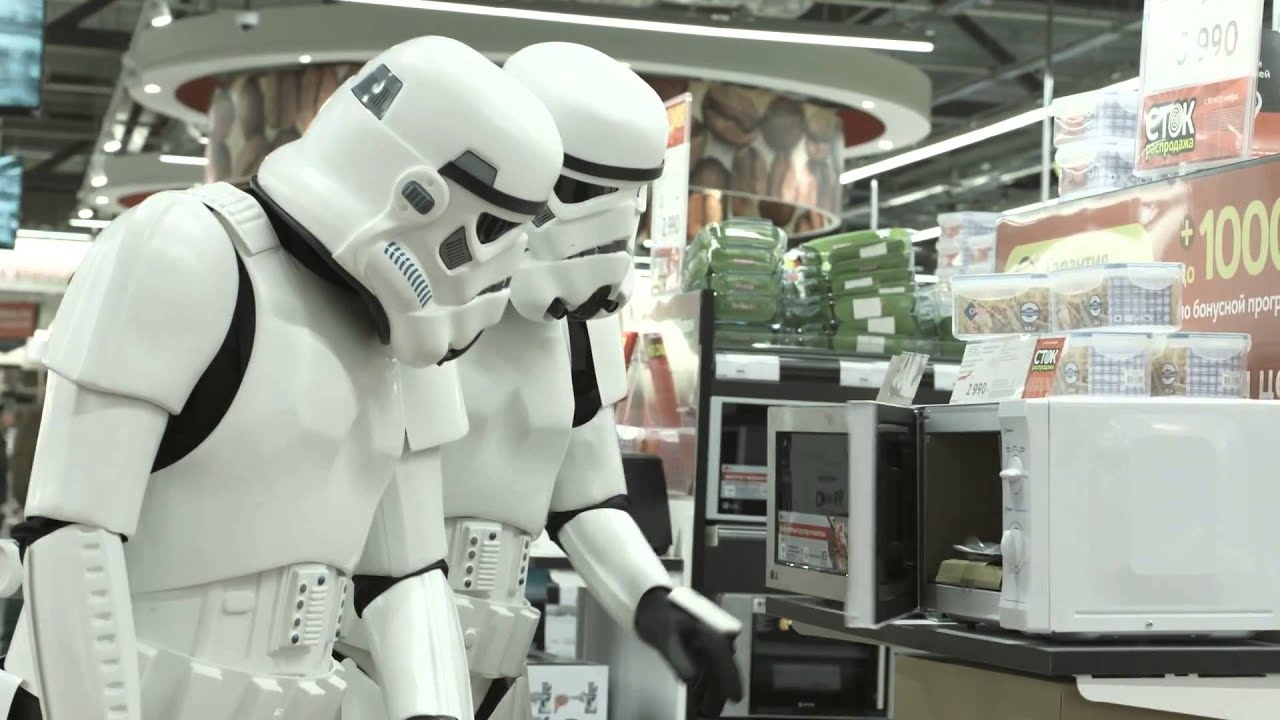 Image result for stormtroopers in store