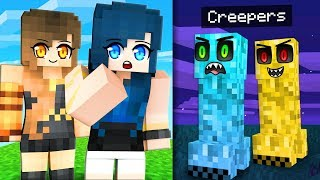 Life as a Minecraft Creeper...