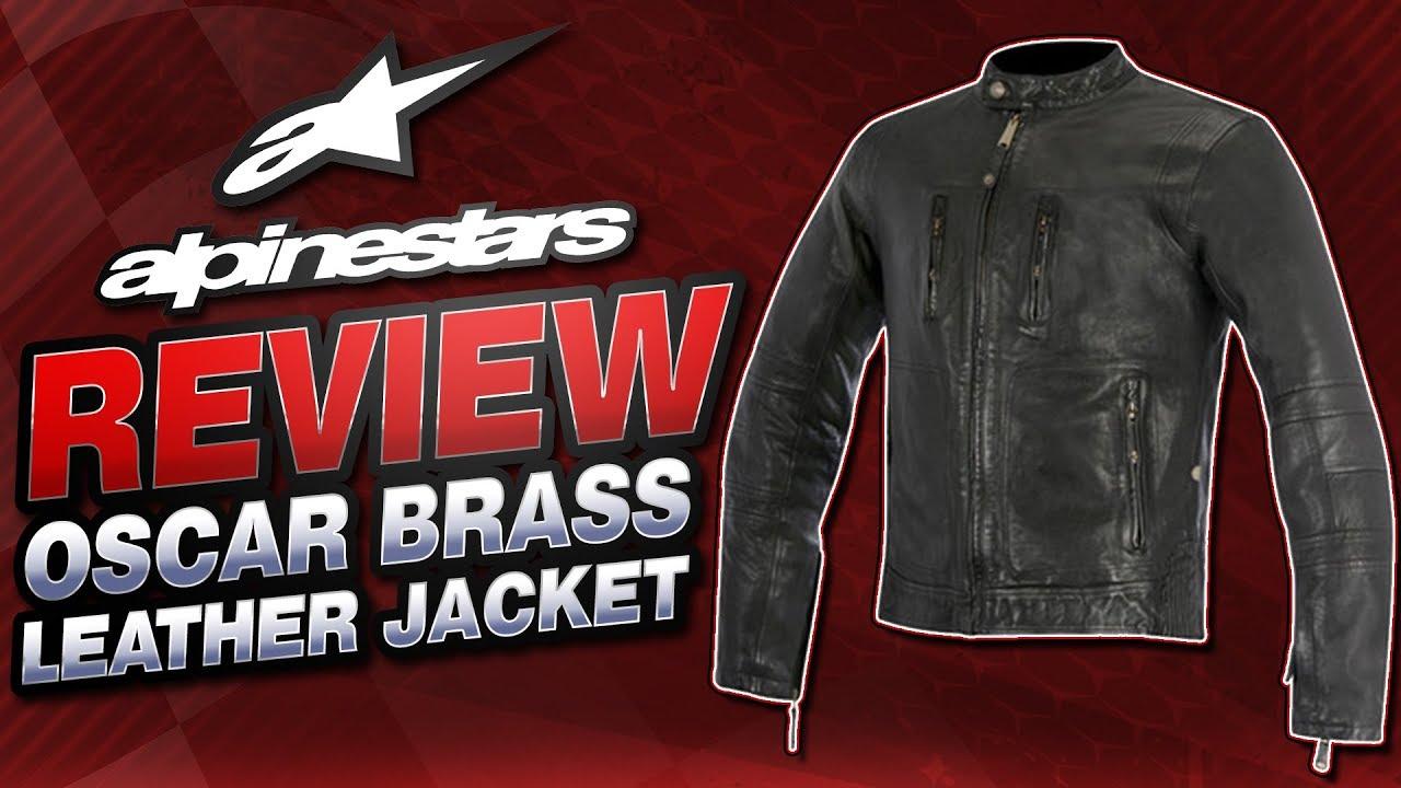 Alpinestars Oscar Brass Leather Jacket Review From