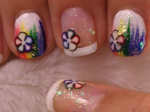 cute and simple nail art short