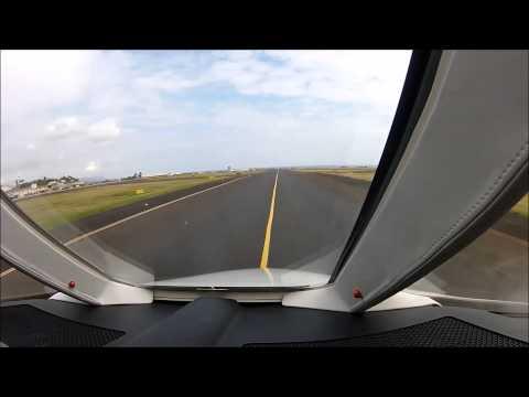 Landing in Lihue, HI