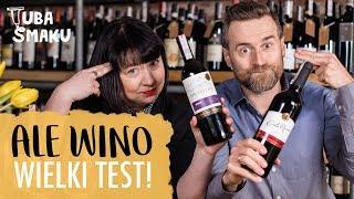 Dzisiaj na kanale wielki test czerwonych wina ze stacji benzynowych...