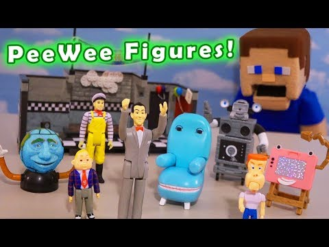 Pee-Wee's PlayHouse ReAction Series 1 Super7 Figures Huge Unboxing!