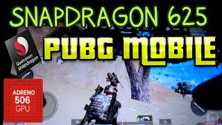 pUBG MOBILE SNAPDRAGON 625 ADRENO 506 RAM 3GB Gameplay