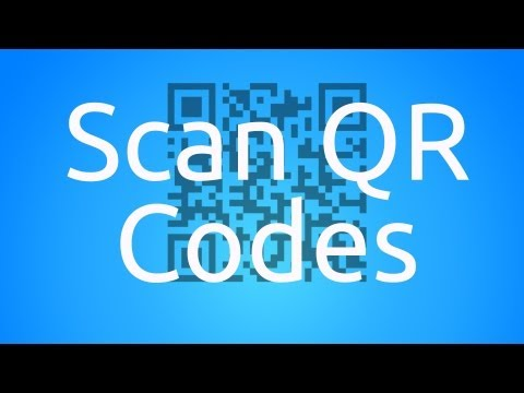 How to Scan QR Codes - iPhone, iPod Touch, iPad