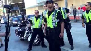 Intense Clash With Police at Cannabis Day in Vancouver