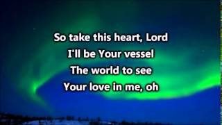 Broken Vessels Amazing Grace - Hillsong - Instrumental with lyrics