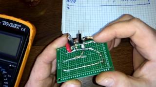 Защита от кз на двух транзисторах часть 1