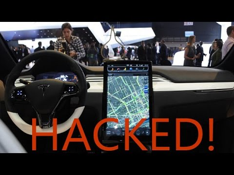 Tesla Model S Hacked!!!!!!