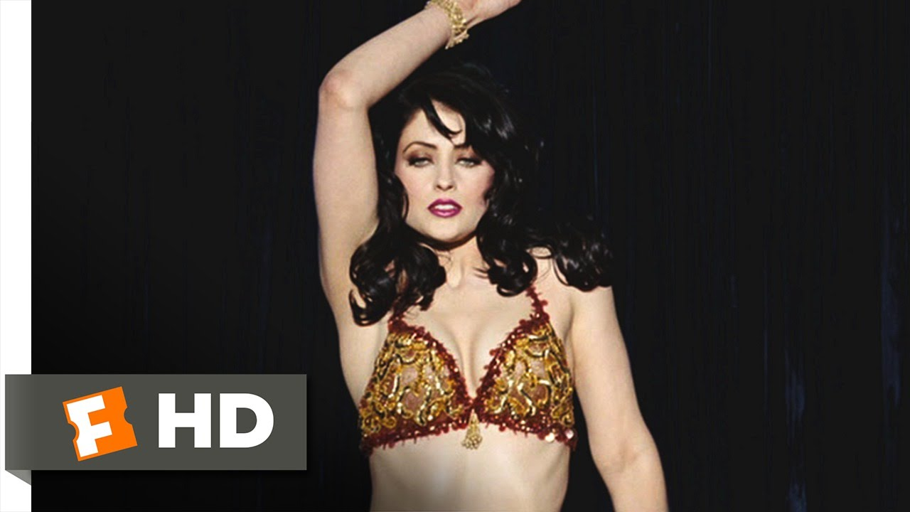 Charlie Wilsons War Movie CLIP Belly Dancer Diplomacy - History dance film one brilliant video