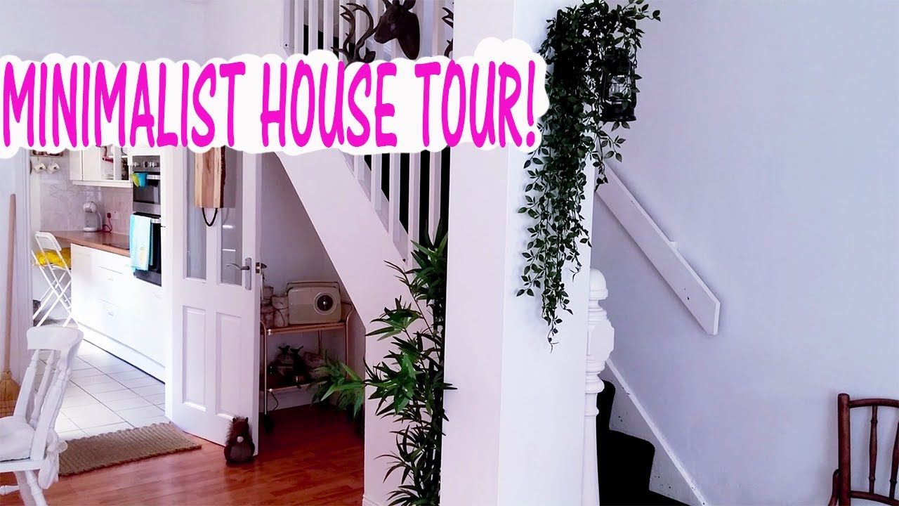 minimalist house tour 2017- shabby chic summer update - youtube