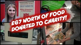 £67 Worth of Food for FREE using Coupons! (Charity Donation)