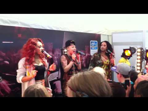 Stooshe Fuck Me  Backstage Wireless Festival 2012