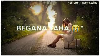 Andhero Se Tha Mera Rishta Bada   WhatsApp status New Song   Tausef Sayyad  