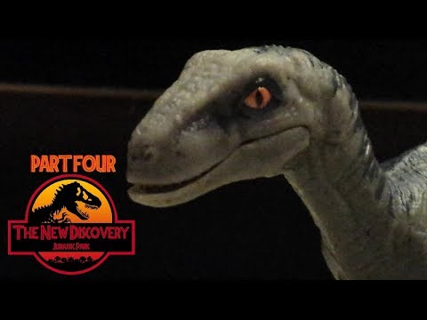 The New Discovery: Jurassic Park (Toy Movie REMAKE) Part 4/6