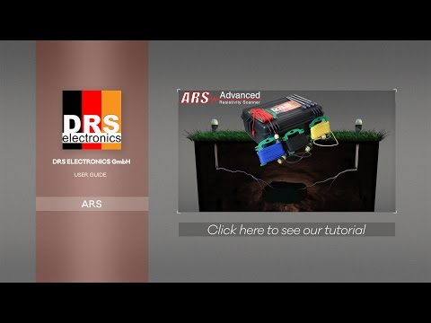 DRS Advanced Resistivity Scanner (ARS), geophysical 3D radar