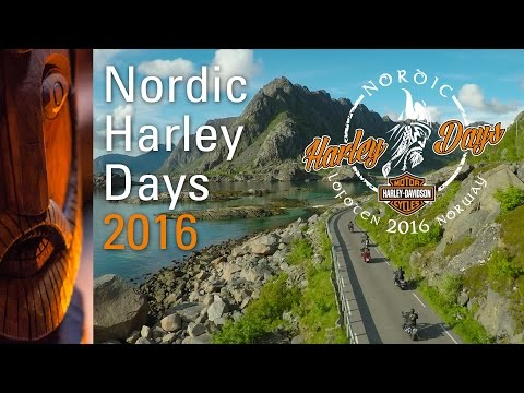 Nordic Harley Days 2016 - Event in Lofoten, Norway - HOG Arctic Chapter