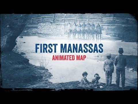 First Manassas: Battle Map