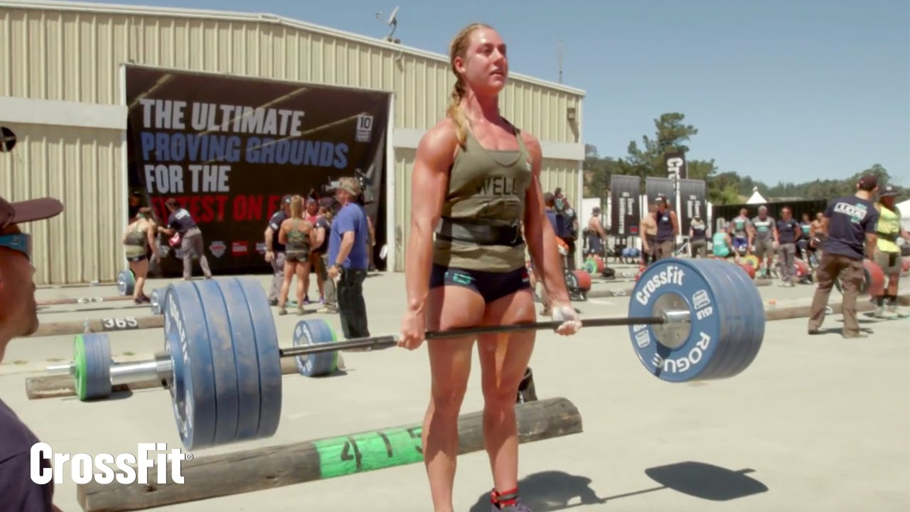 The crossfit games womens ranch deadlift ladder youtube falaconquin