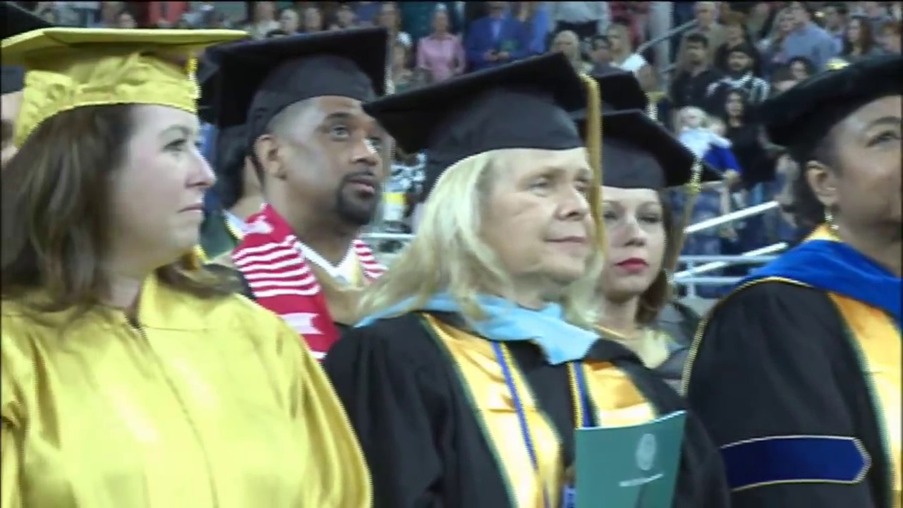 Wayne State University Commencement May 2018 Afternoon