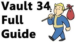 Fallout New Vegas: Vault 34 Guide (All American/Pulse Gun) Walkthrough Step by Step