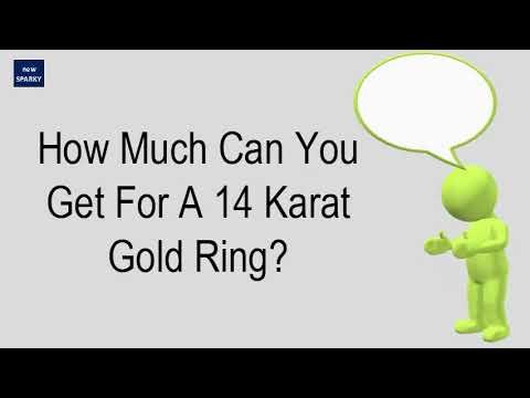 how-much-can-you-get-for-a-14-karat-gold-ring?