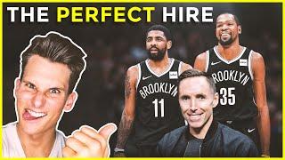 Steve Nash is the PERFECT HIRE as Nets head coach [2020 NETS COACH NEWS]