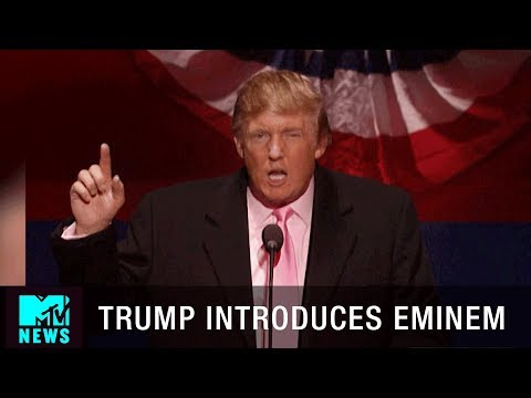 Thumbnail: Donald Trump Says He Would Vote for Eminem at the Shady National Convention | MTV News