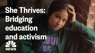 Valencia d. clay is a baltimore-based teacher on mission to inspire her students by using activism educate and she records lessons social media t...