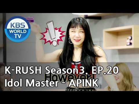 Idol Master - APINK [KBS World Idol Show K-RUSH3 / ENG,CHN / 2018.07.27]