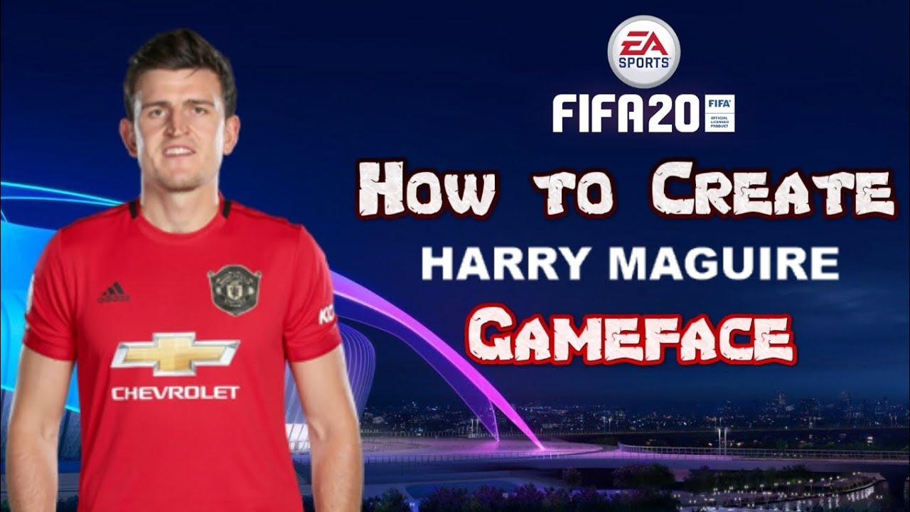 FIFA 20 - How to Create Harry Maguire - Pro Clubs