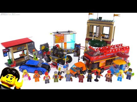 LEGO City: Capital City super-set review! 60200