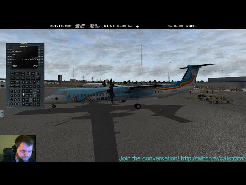 [Livestream] FlyJSim Bombardier Dash 8 Q400 in X-Plane 10 on PilotEdge | 2015-11-02