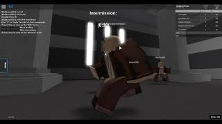 Playing as the Emperor and Obi Wan! Roblox series Ep. 1