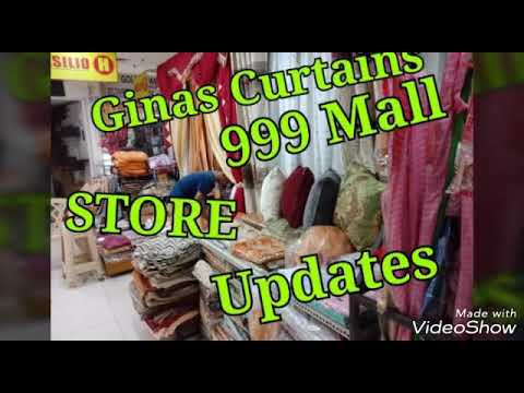 GINAS CURTAINS  (V-058) THE STORE (DISPLAY UPDATES) at 999 S