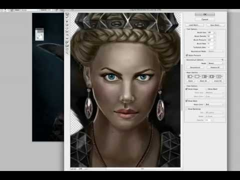 Queen Ravenna - Speed Painting