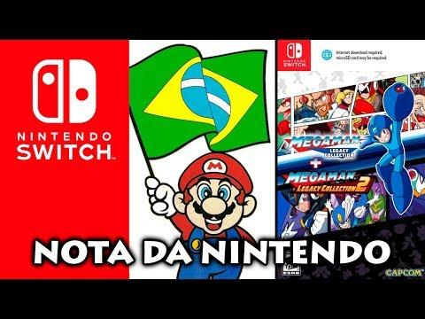 Nintendo fala que REDSTORE não é oficial | Edição física Megaman Legacy 1+2  e mais!