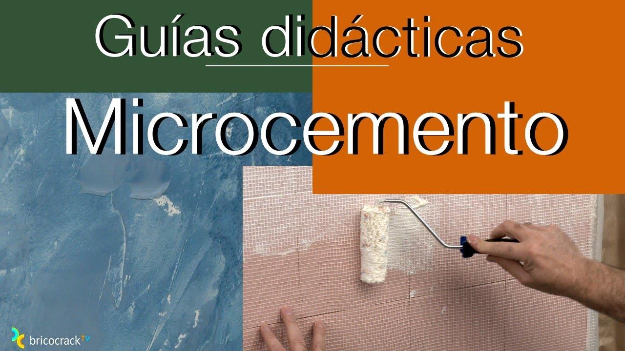 C mo cubrir azulejos con microcemento bricocrack youtube - Como tapar agujeros en azulejos ...