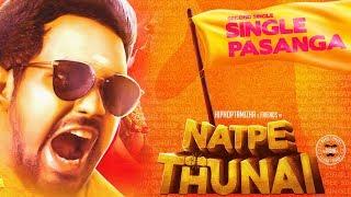 Single Pasanga - Natpe Thunai Second Single Track Countdown begins | Hip Hop Tamizha | Sundar C