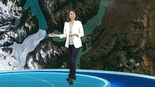 Earth from Space: Patagonian glaciers