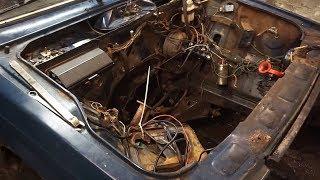 Влог #34 - Свап Неизбежен! Вытаскиваем Мотор!