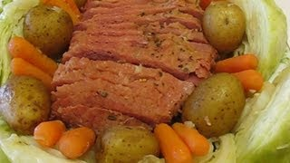 Betty's New England Boiled Corned Beef Dinner