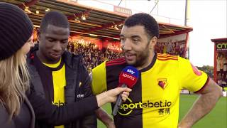 'I'm happy with the win but I'm starving!' 🤣 | Troy Deeney after Watford's 3-0 win
