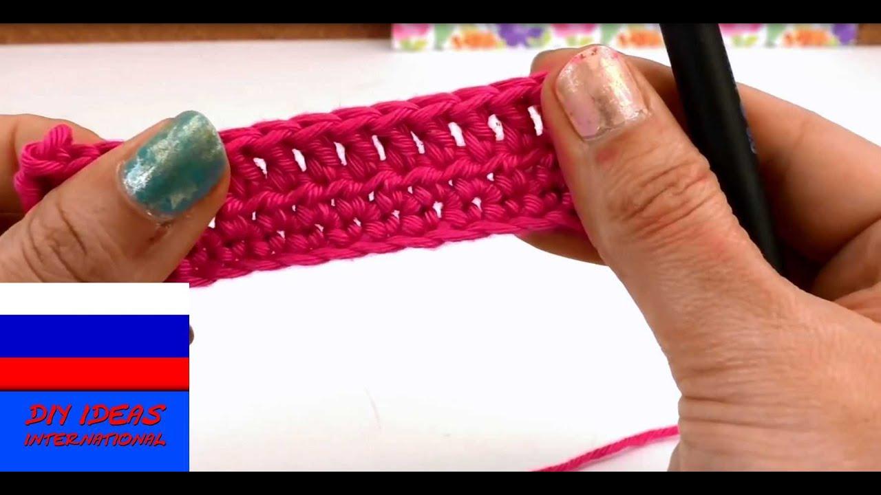 схема плетения полустолбика