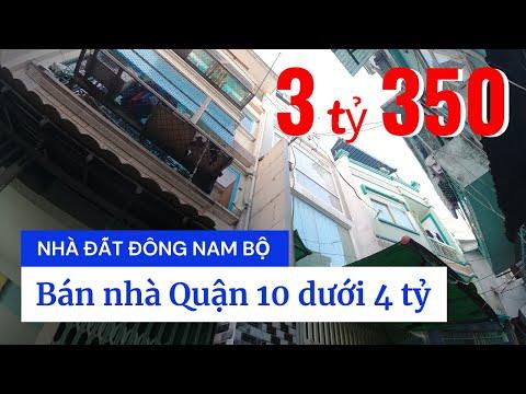Video nhà bán Quận 10 dưới 4 tỷ, trệt 2 lầu ST, gần Bệnh viện Nhi Đồng 1, hẻm 458 Lý Thái Tổ P10 Q10