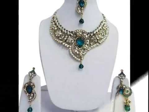 Traditional Designer Party Wear Necklace Jewelry from India
