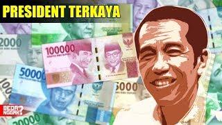 Tiba Tiba Jadi Milyarder ! 7 Peringkat Kekayaan Presiden Indon…