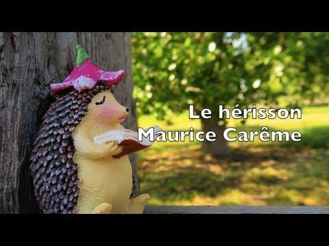 Poetry By Maurice Carême The Hedgehog